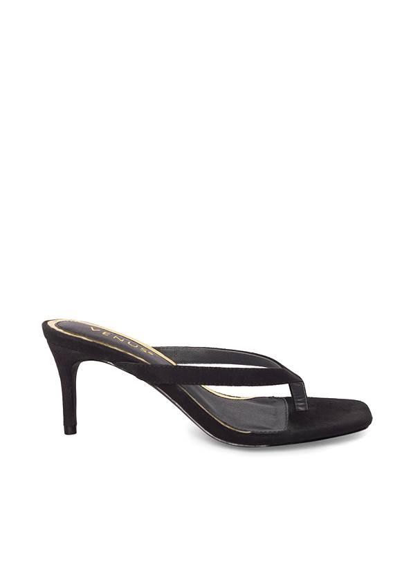 Shoe series side view Thong Strap Kitten Heels