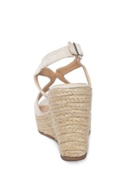 Back View Essential Espadrille Wedges