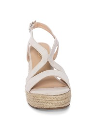 Front View Essential Espadrille Wedges