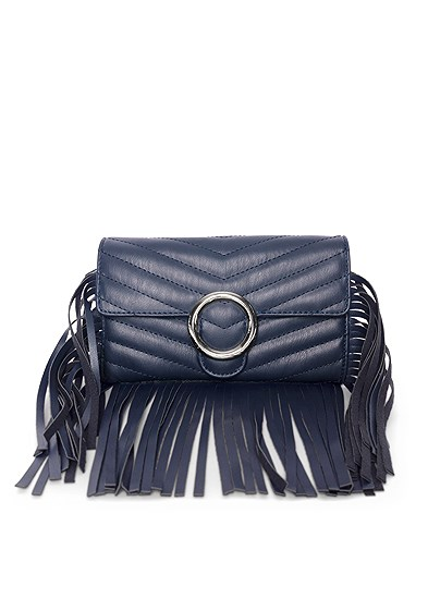 Chevron Fringe Crossbody