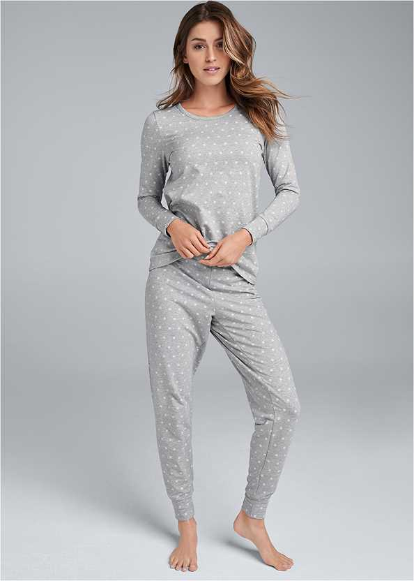 Printed Sleep Jogger Set