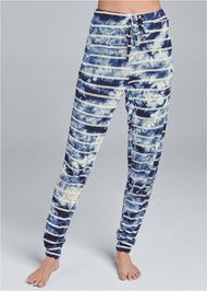 Front View Printed Sleep Jogger