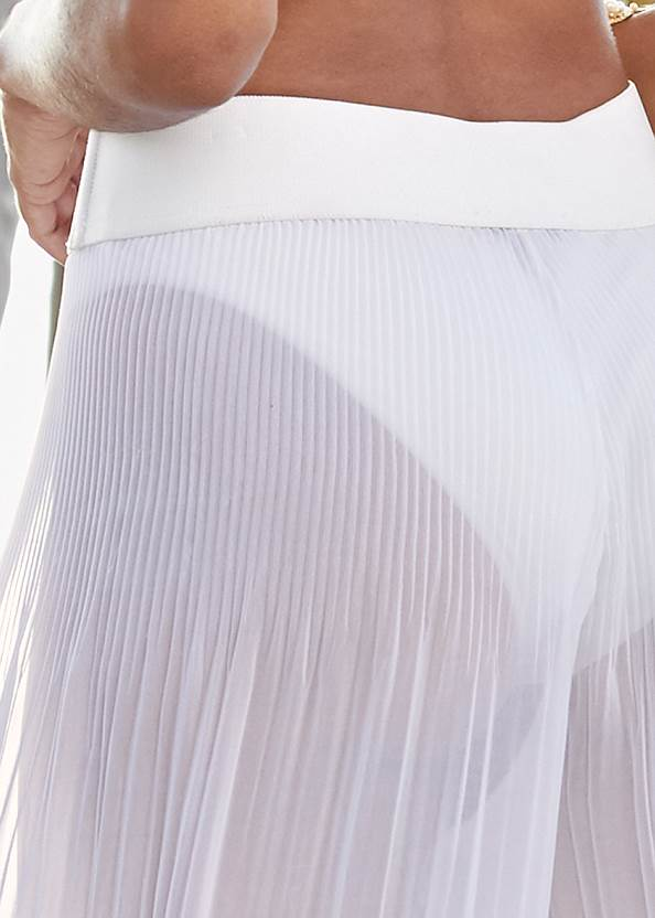 Alternate View Pleated Cover-Up Pant