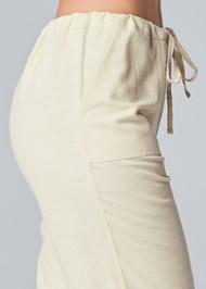 Detail side view Drawstring Pants