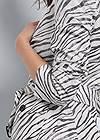 Alternate View Belted Zebra Print Blazer