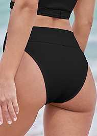 Detail back view Comfort Shaping High Leg Bottoms