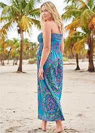 Back View Maxi Dress