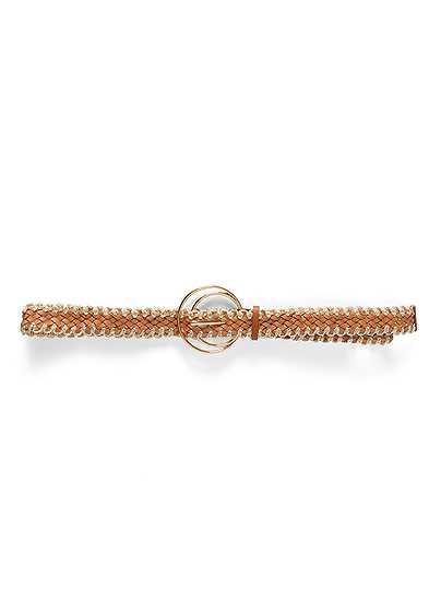 Metallic Woven Belt