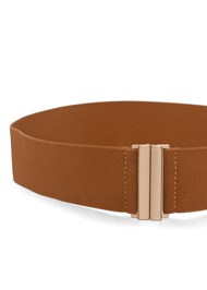 Flatshot  view Stretch Waist Belt