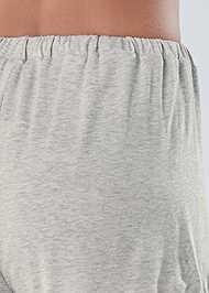 Detail back view Sleep Shorts