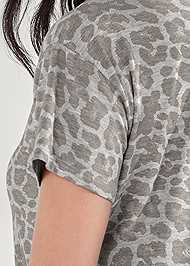 Detail back view Sleep T-Shirt