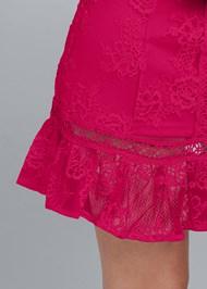 Alternate View Lace Mini Dress