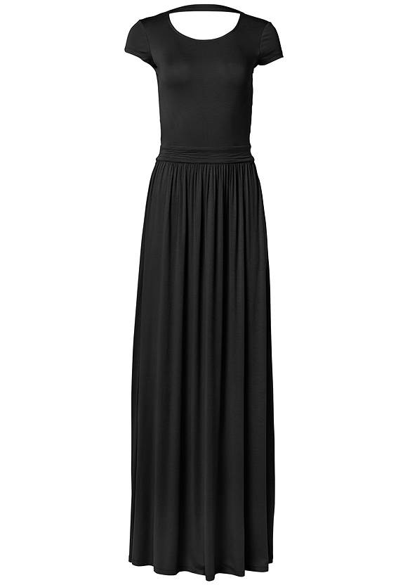 Ghost with background  view Twist Back Maxi Dress
