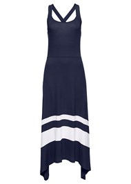Alternate View Color Block Maxi Dress