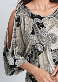 Alternate View Paisley Printed Dress