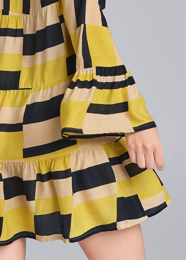 Alternate View Geometrical Printed Dress