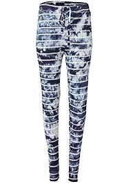 Ghost with background  view Printed Sleep Jogger