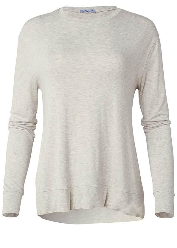 Alternate View Long Sleeve Sleep Shirt