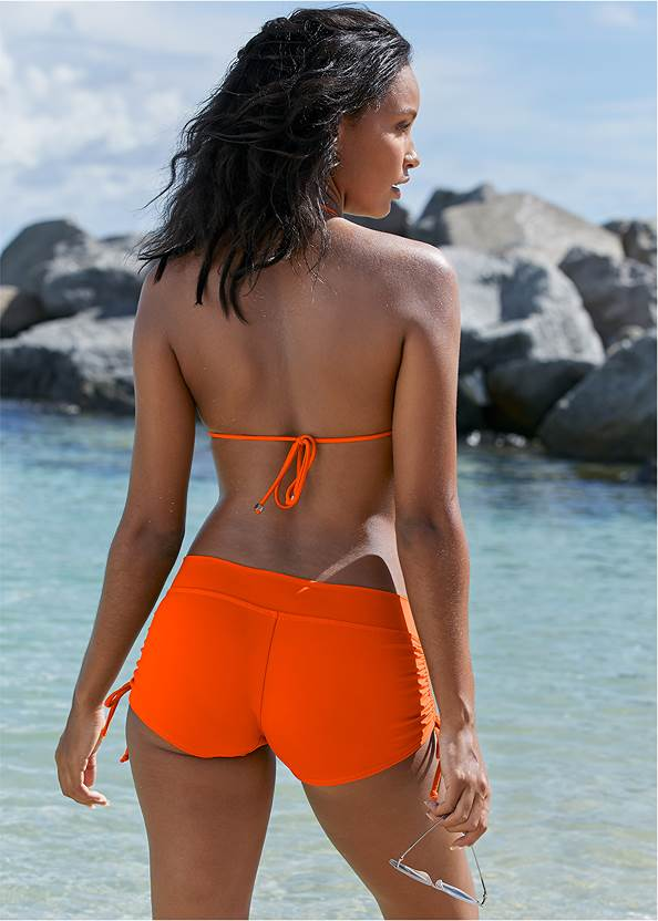 Back View Triangle String Bikini Top