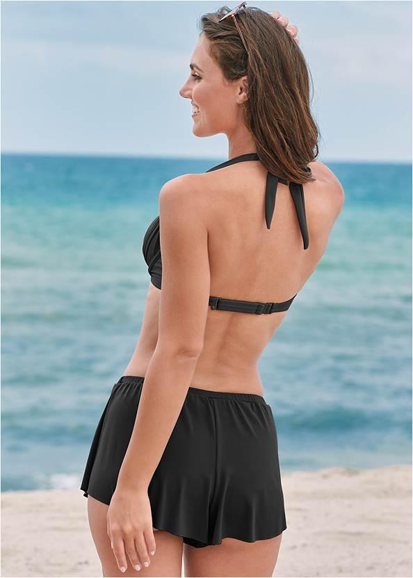 Full back view Swim Full Coverage Shorts