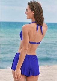 Back View Swim Full Coverage Shorts