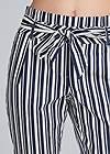 Alternate View Striped Paperbag Pants