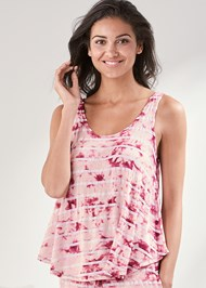 Cropped front view Sleep Tank
