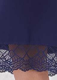 Detail back view Sleep Robe