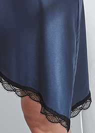 Detail front view Satin Sleep Dress
