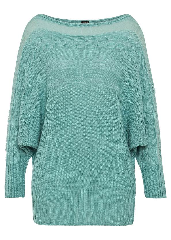 Alternate View Cable Knit Sweater