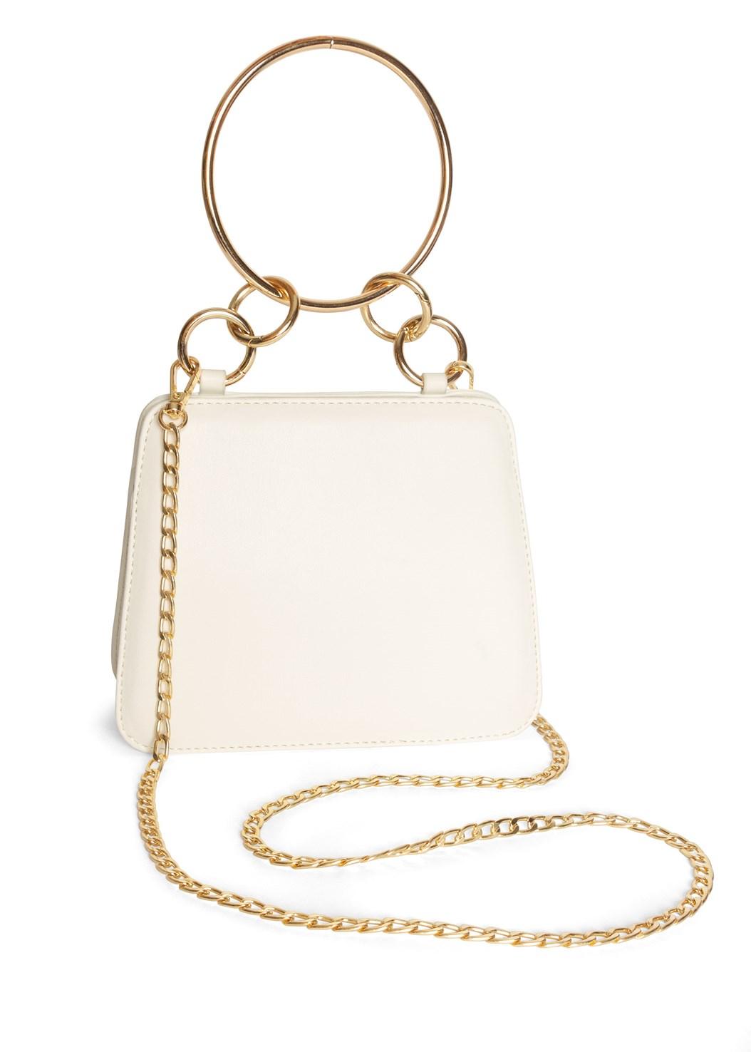 Metal Ring Crossbody Bag