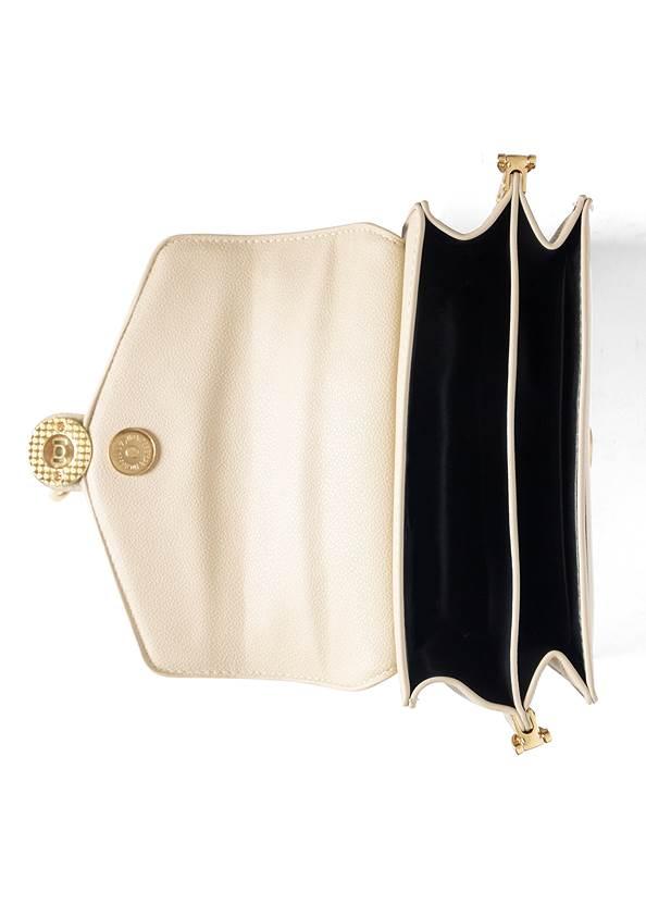 Alternate View Two-Tone Crossbody Bag