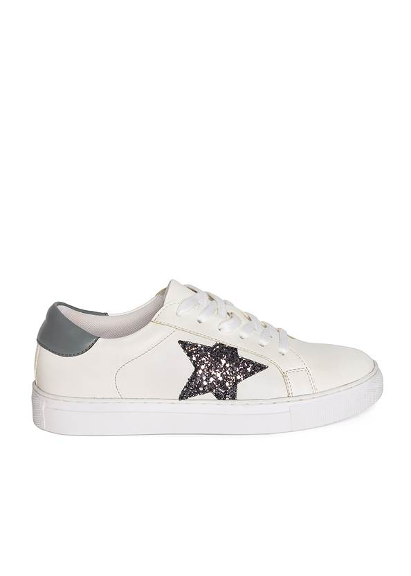 Alternate View Lace Up Star Sneakers