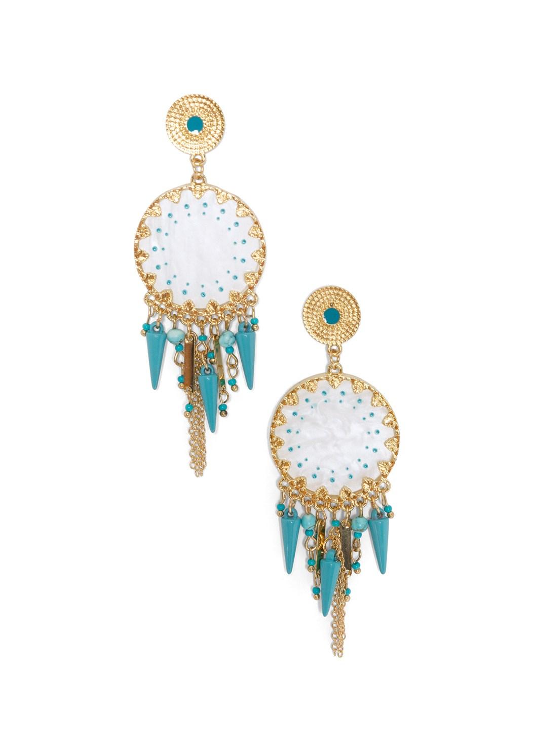 Shell Fringe Earring,Open Knit Maxi Sweater Dress,Rhinestone Thong Sandal,Shell Pendant Necklace