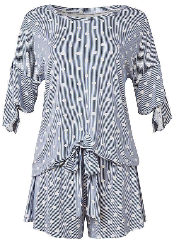 Ghost with background  view Sleep Shorts Set