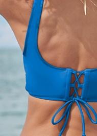 Detail back view Lovely Lift Wrap Bikini Top