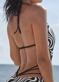 Detail back view Spellbound Monokini