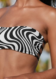 Detail front view Strappy Bandeau Top