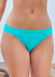 Detail front view Banded Swim Bottom