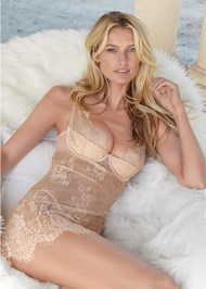 Alternate View Sheer Lace Chemise