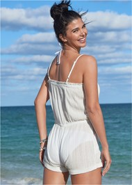 Alternate View Casual Romper Cover-Up