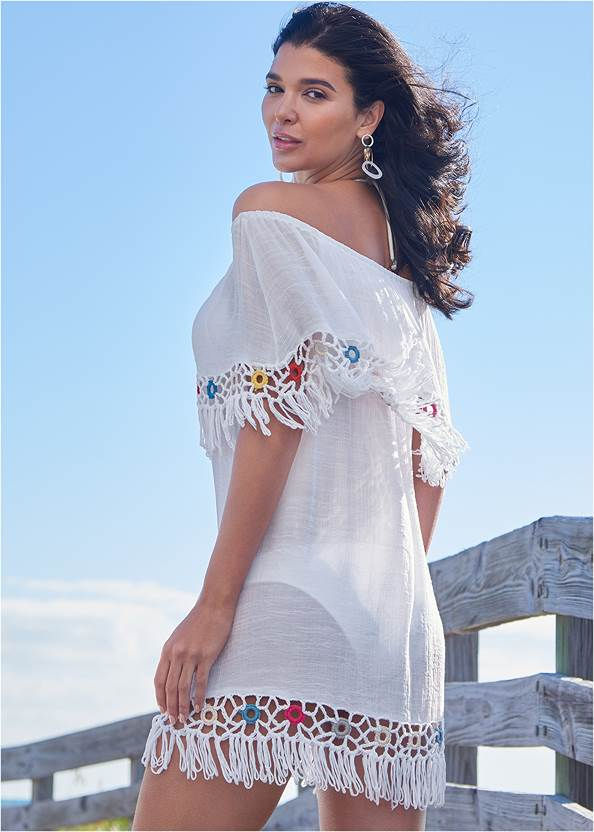 Full back view Cover-Up Dress