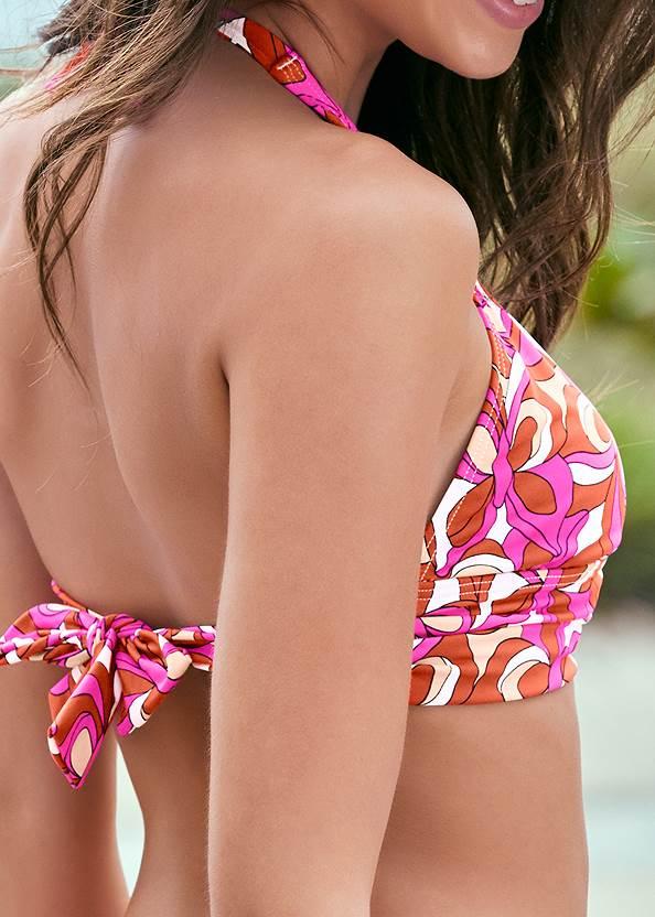 Alternate View Halter Ring Bikini Top