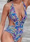 Detail front view Versatility By Venus™ Reversible Monokini