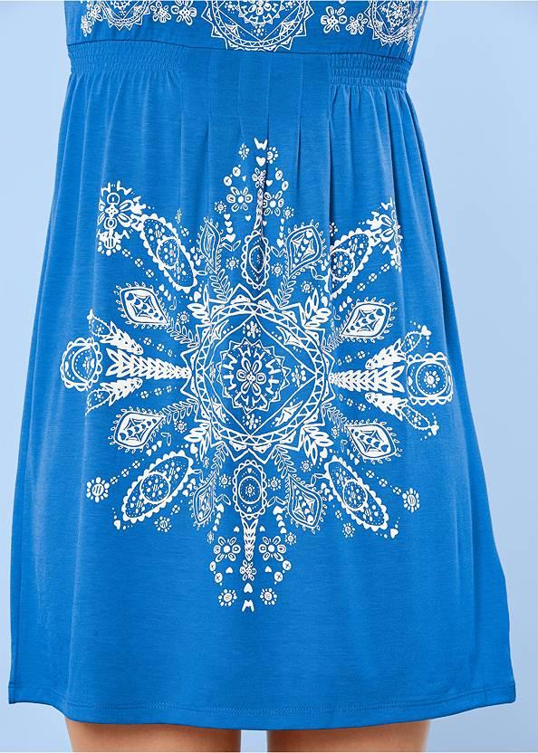 Alternate View Print Dress