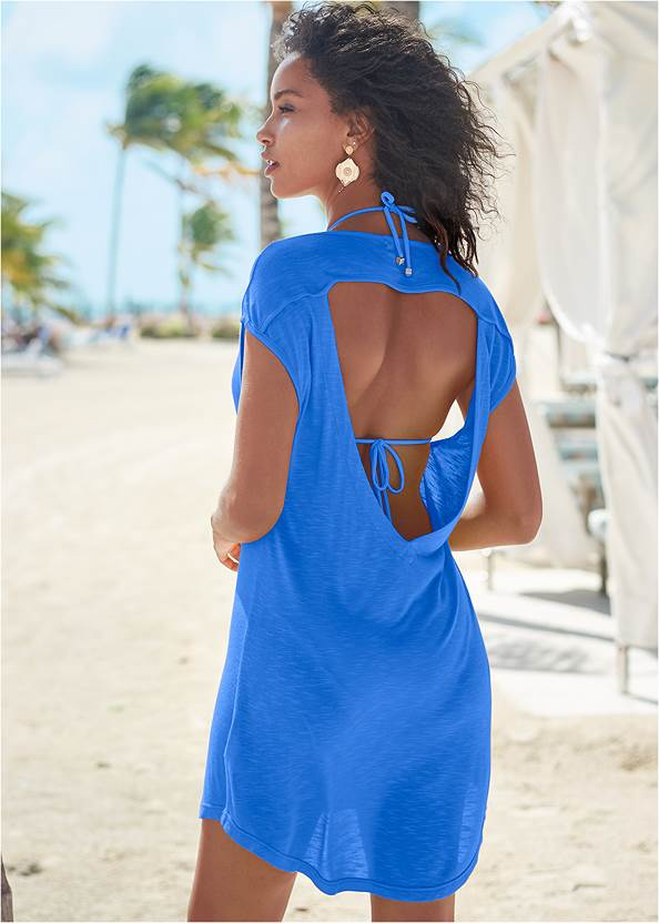 Back View Keyhole Back Cover-Up