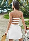 Back View Strappy Cover Up Dress