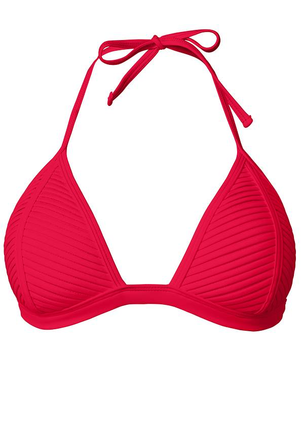 Alternate View Pleated Push Up Triangle