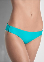 Detail front view Versatility By Venus™ Low Rise Ruched Bottom