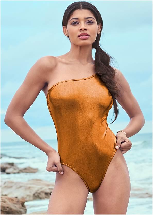 Alternate View Sports Illustrated Swim™ Sleek One Shoulder One-Piece